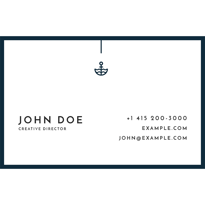 Original business cards