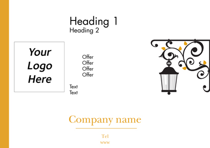 Flyer A5 - Outdoor lighting