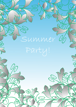 Invitation - Summer party