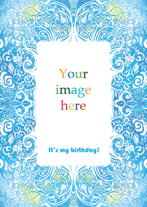 Front Birthday card