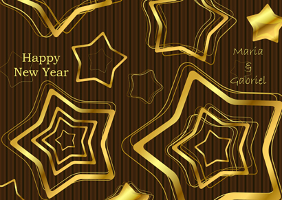 Front New Year Card 18