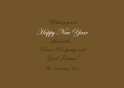 Front New Year Card 12