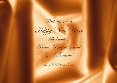 Front New Year Card 11