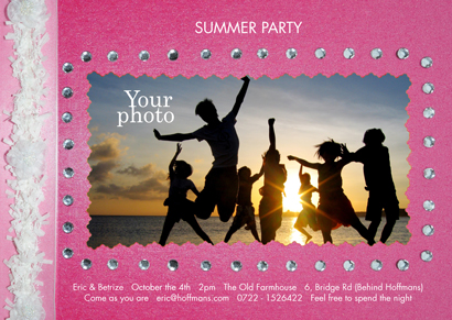 Invitation - Beach party