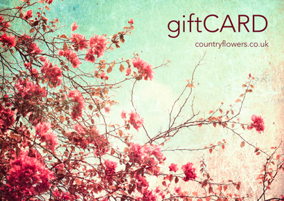Gift card - Flowers