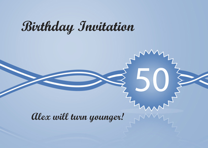 Invitation - Birthday