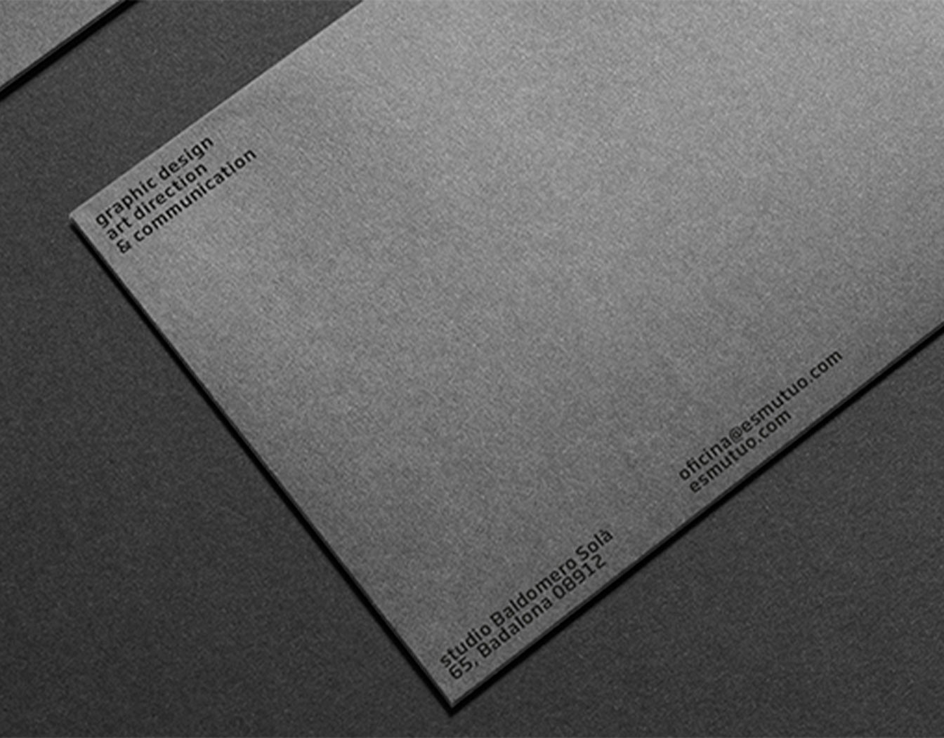 Envelope backgrund with grey filter