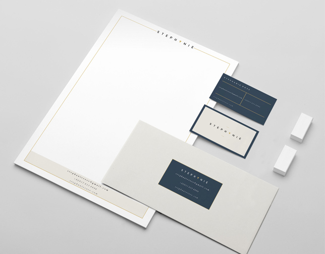 Luxury letterhead. One sheet.