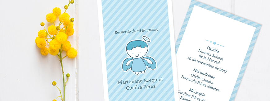 Invitation to the Baptism or Christening Ceremony