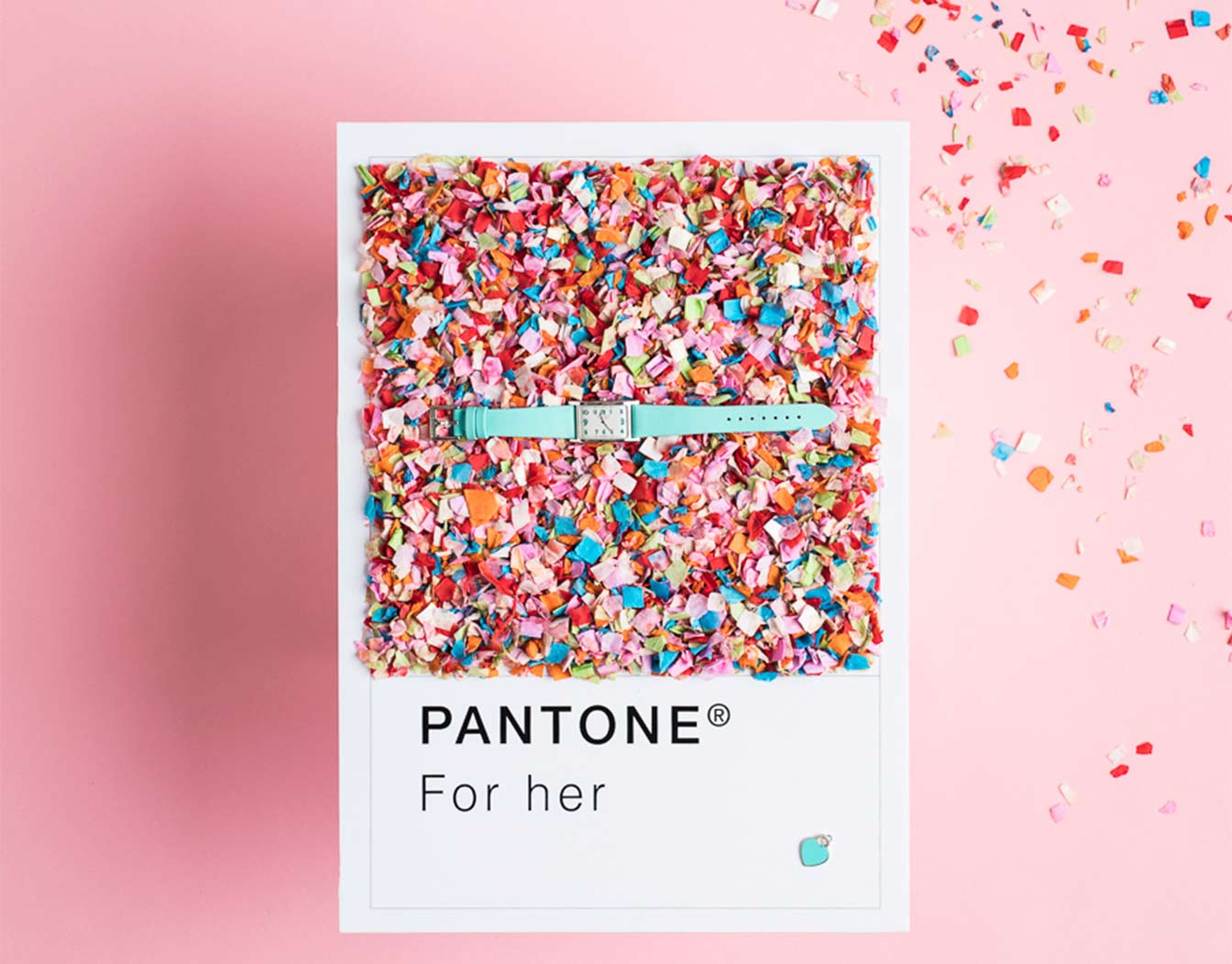 Colorful gift event card