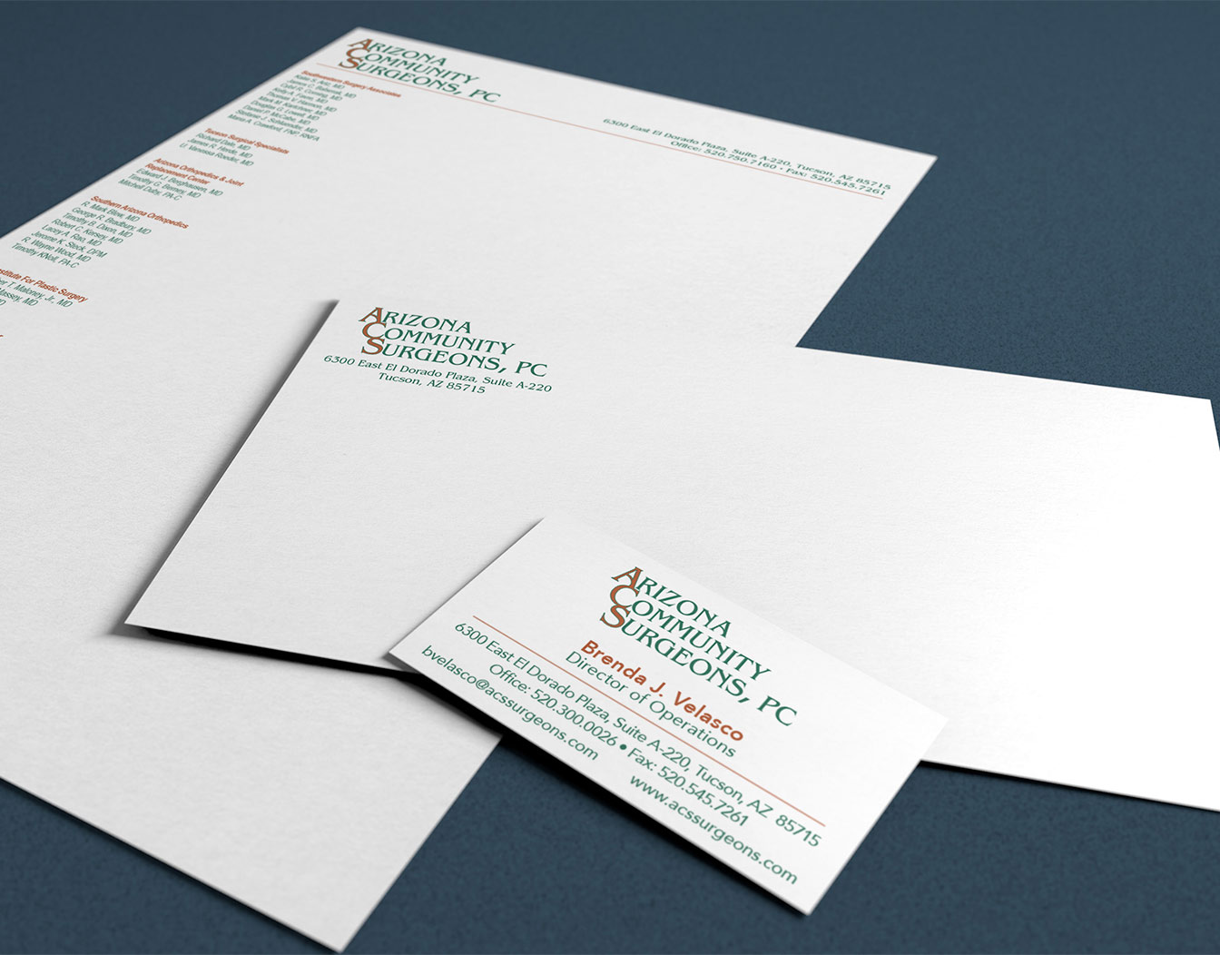 Classic business stationary