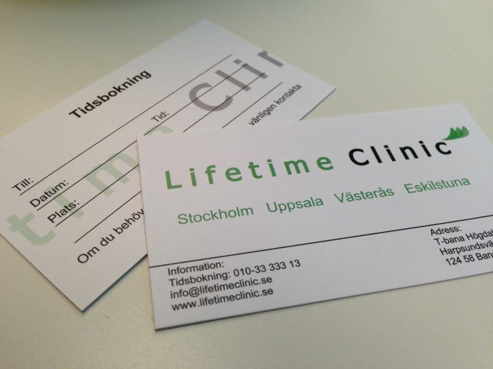 lifetime clinic stockholm