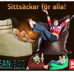 Sara vs bild på Bean Bag Fabriken AB
