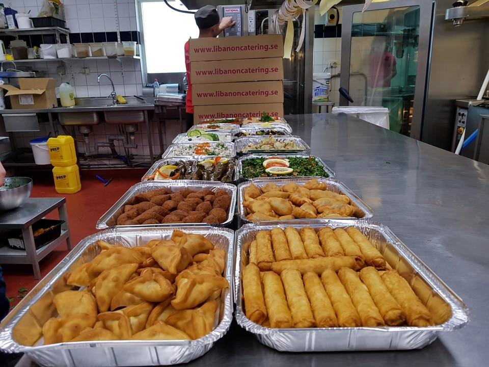 libanesisk mat catering stockholm