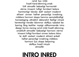 INTRO INRED