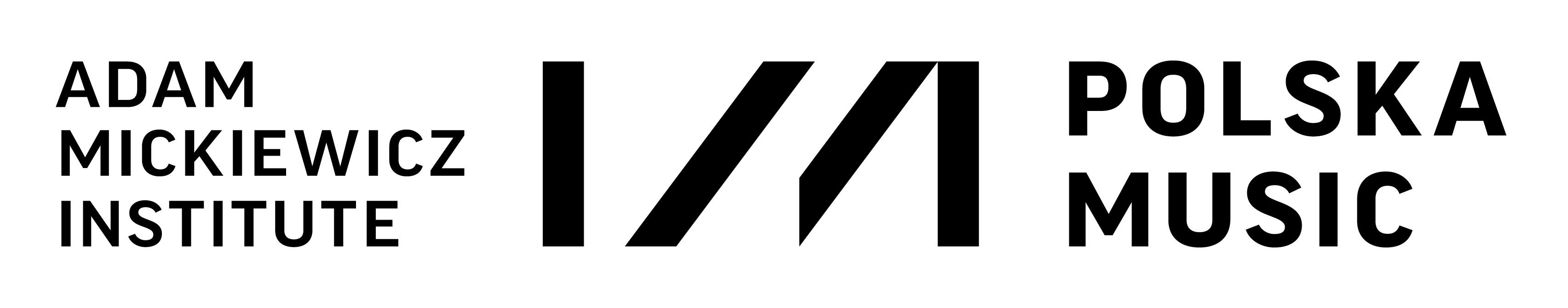 Adam Mickiewicz Institute - Polska Music programme logo