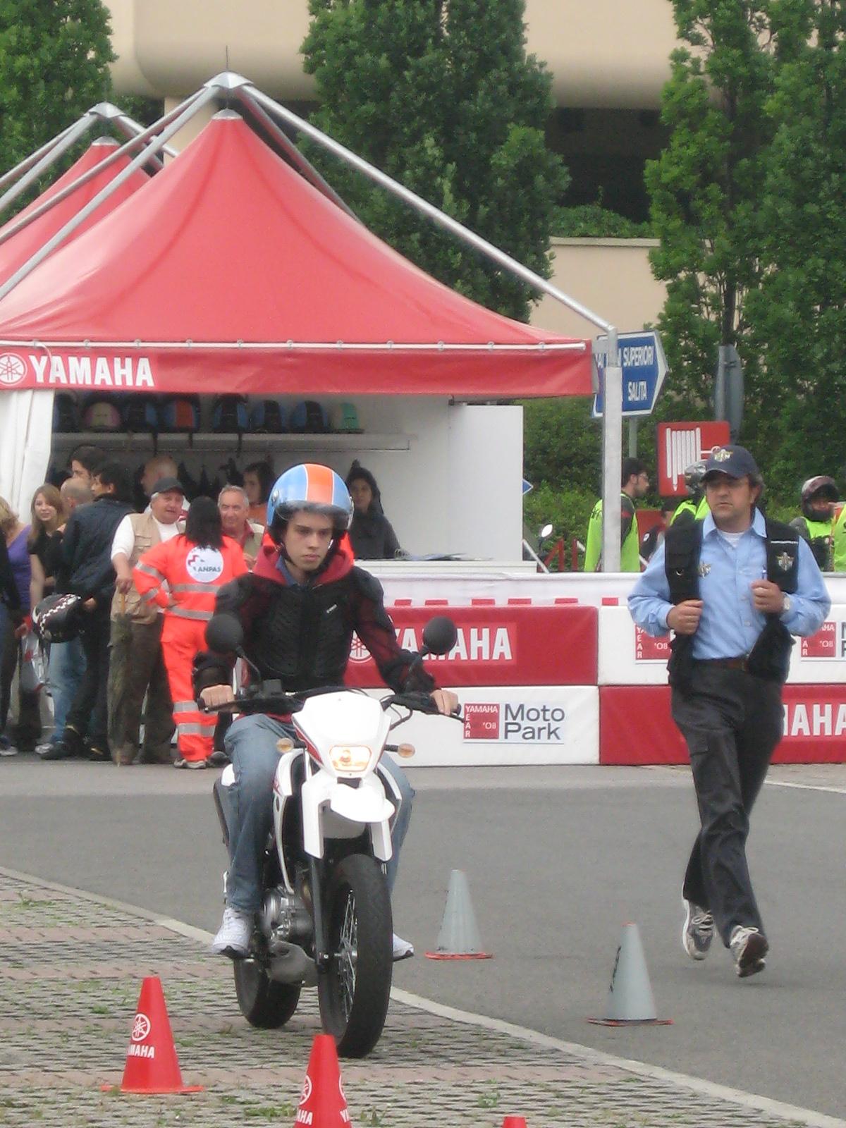 yamaha moto park events