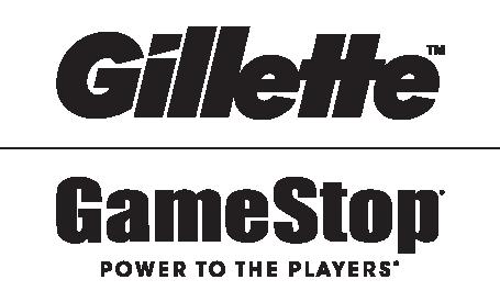 Gillette & Gamestop Logos
