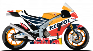 2018 repsol honda team bike