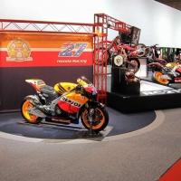 Honda Repsol in a museum