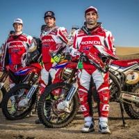Honda HRC motocross team