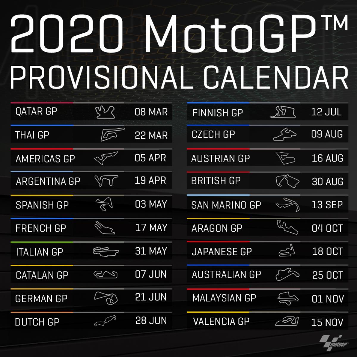 Rennkalender F1 2021