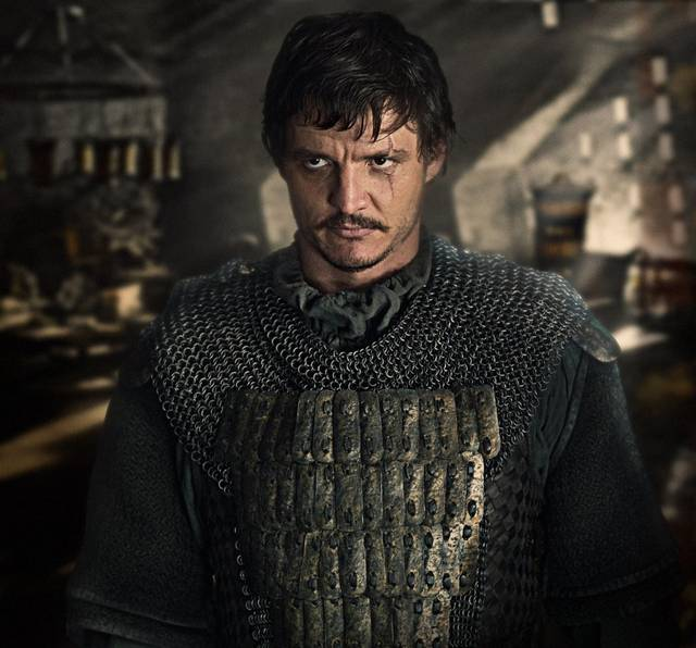 The Great Wall Pedro Pascal foto dal film 8
