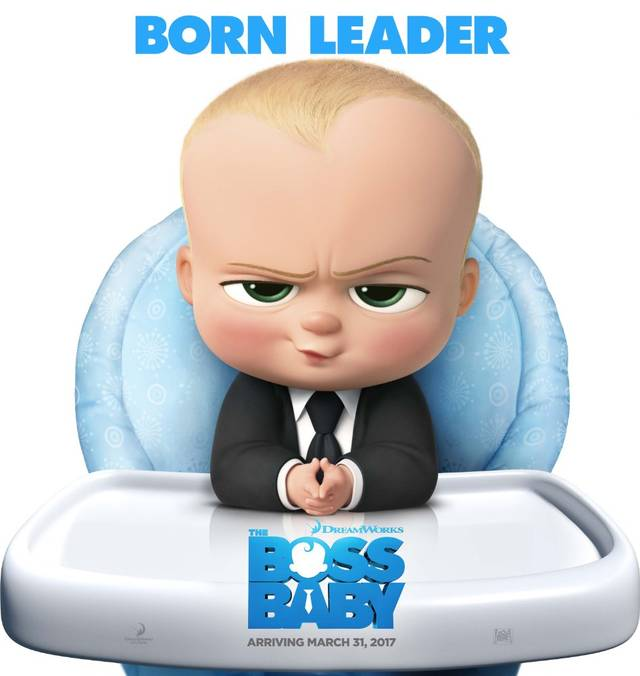 Baby Boss Teaser Character Poster USA