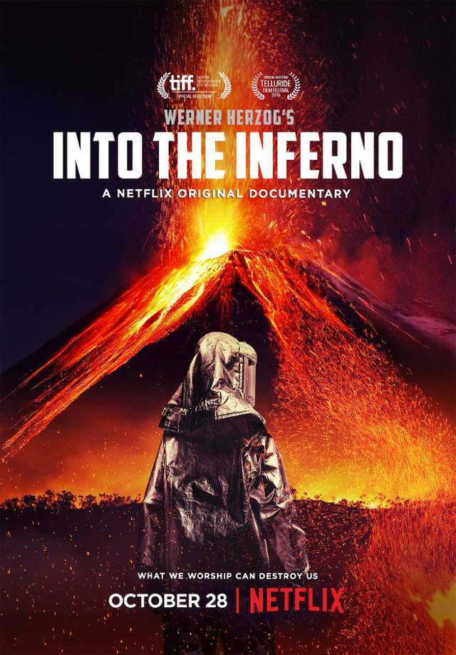 Into the Inferno Poster Netflix Internazionale