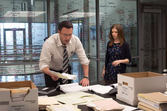 The Accountant Ben Affleck Anna Kendrick foto dal film 2