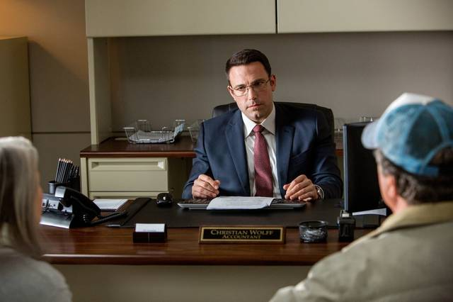 The Accountant Ben Affleck foto dal film 3