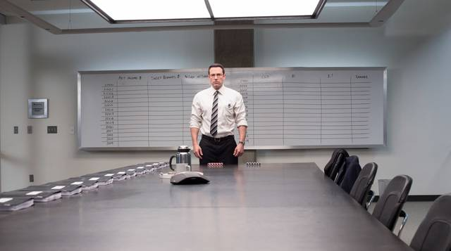 The Accountant Ben Affleck foto dal film 5
