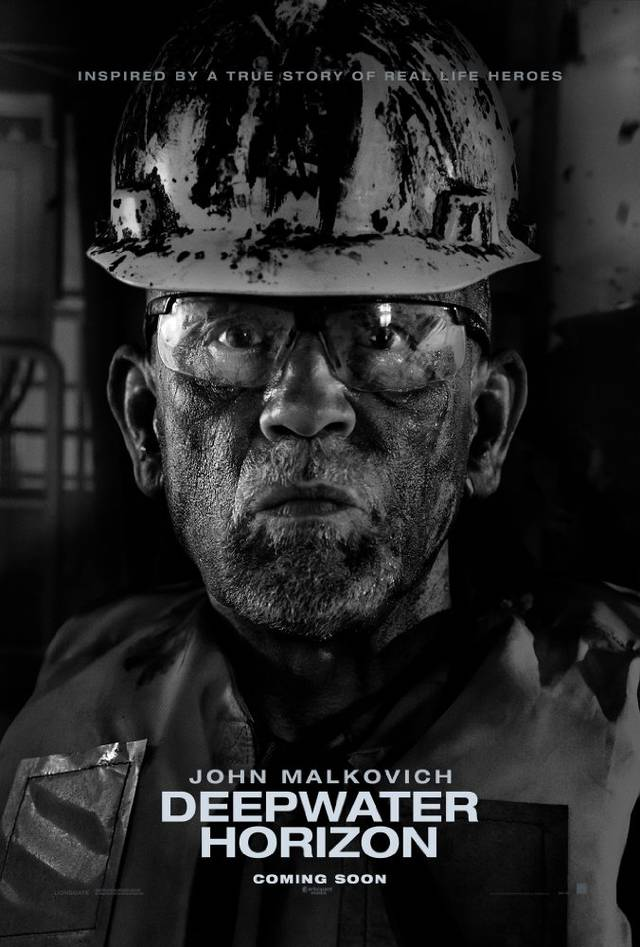 Deepwater - Inferno sull'oceano Teaser Character Poster USA 2