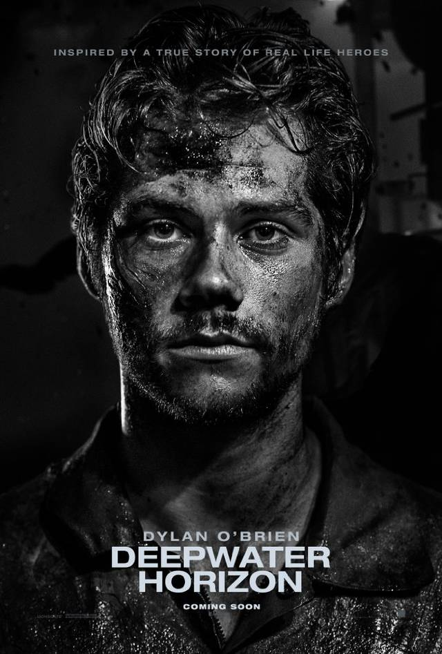 Deepwater - Inferno sull'oceano Teaser Character Poster USA 3