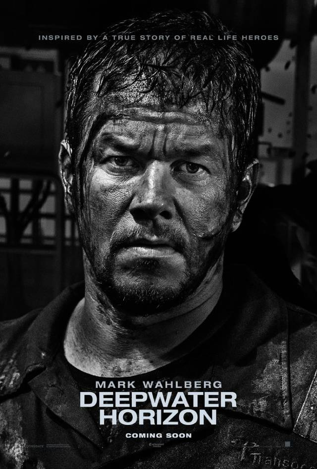 Deepwater - Inferno sull'oceano Teaser Character Poster USA 4