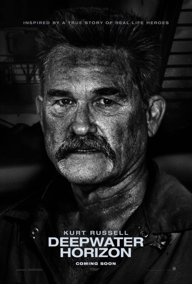 Deepwater - Inferno sull'oceano Teaser Character Poster USA 5