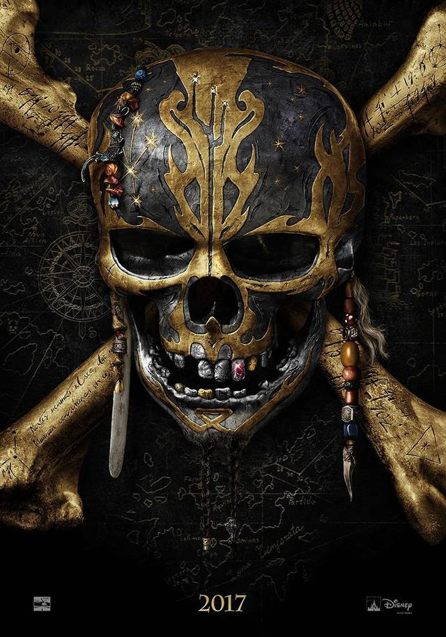 Pirates of the Caribbean Dead Men Tell No Tales Teaser Poster USA