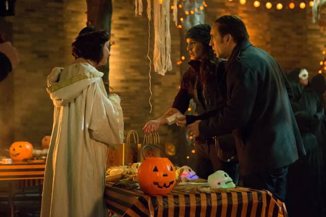 Pay the Ghost Nicolas Cage Sarah Ann Wayne Callies foto dal film 2