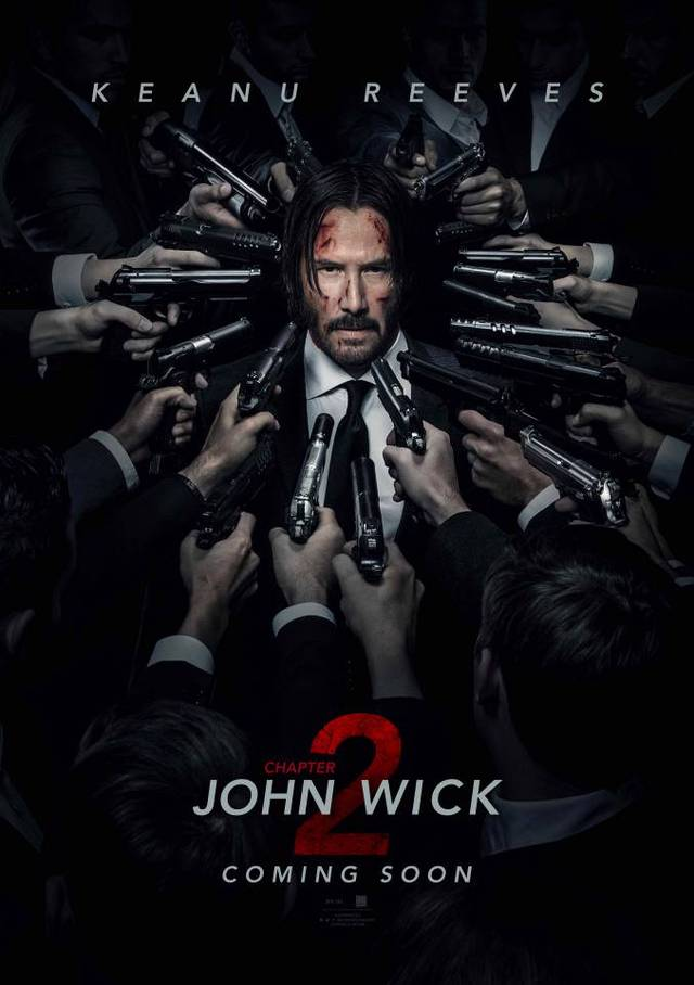 Il poster di John Wick: Chapter 2