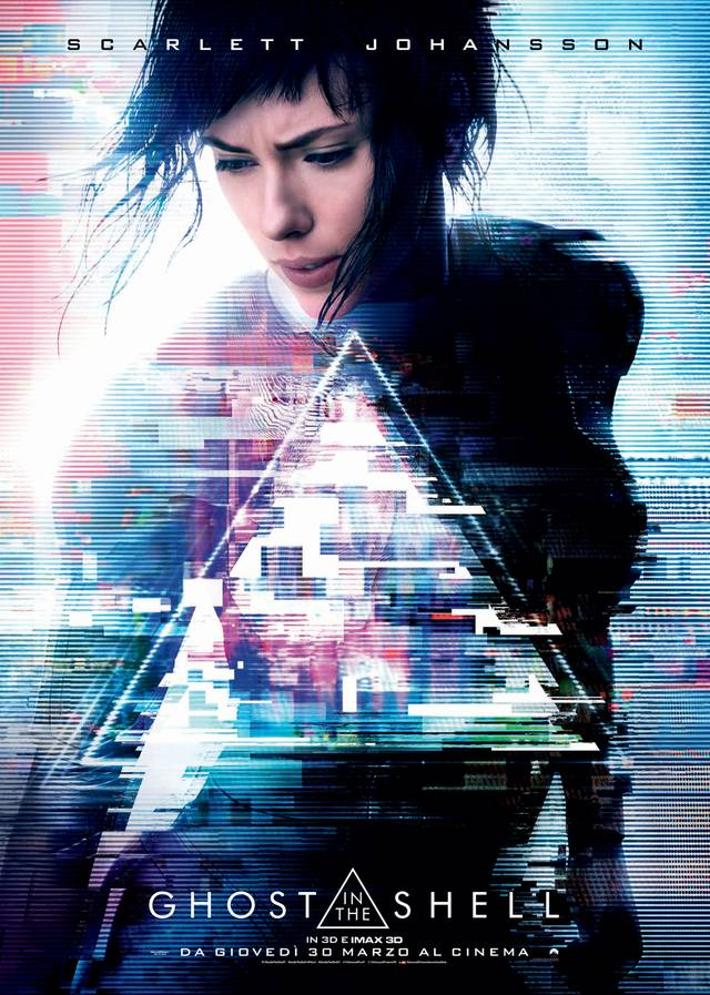 Ghost in the Shell Teaser Poster Italia