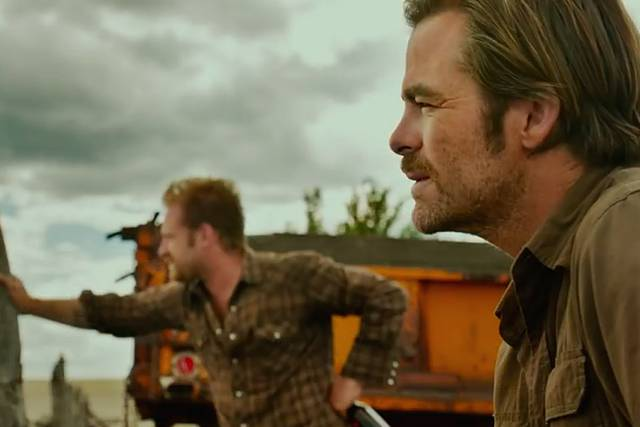 Hell or High Water Chris Pine Ben Foster foto dal film 1