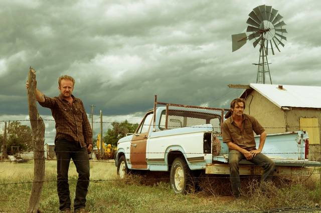 Hell or High Water Chris Pine Ben Foster foto dal film 2