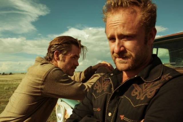 Hell or High Water Chris Pine Ben Foster foto dal film 4