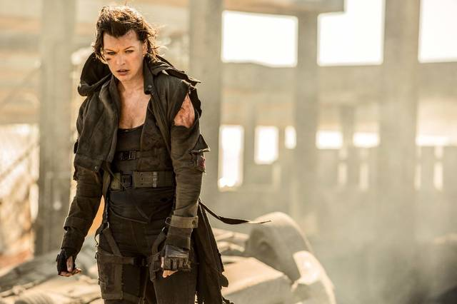 Resident Evil - The Final Chapter Milla Jovovich foto dal film 1