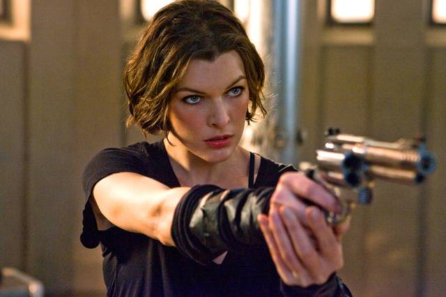 Resident Evil - The Final Chapter Milla Jovovich foto dal film 3
