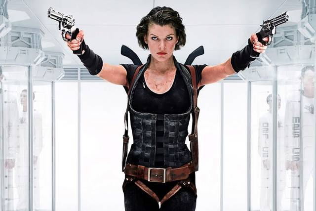Resident Evil - The Final Chapter Milla Jovovich foto dal film 4
