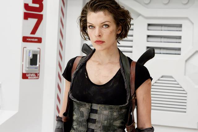 Resident Evil - The Final Chapter Milla Jovovich foto dal film 5