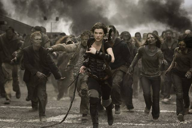 Resident Evil - The Final Chapter Milla Jovovich foto dal film 6
