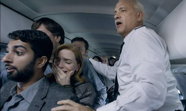Sully Tom Hanks foto dal film 2