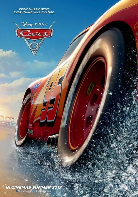 Cars 3 Teaser Poster USA 2